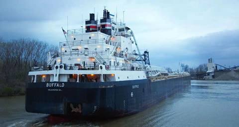 welcome to american steamship company buffalo